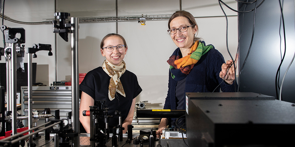 Women in science: When female physicists network