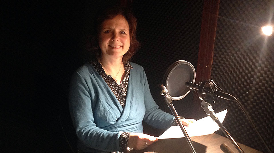 Ina Habermann, Professor of English Literature, led the podcast project.