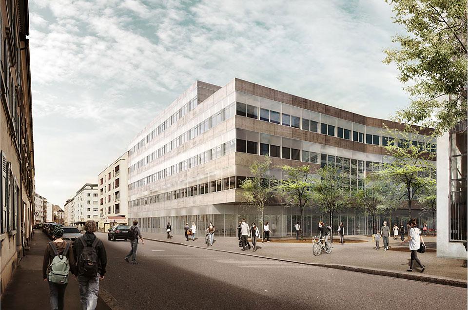 Campus rosental f r zahnmedizin und umweltwissenschaften universit t basel - Architekturburo basel ...