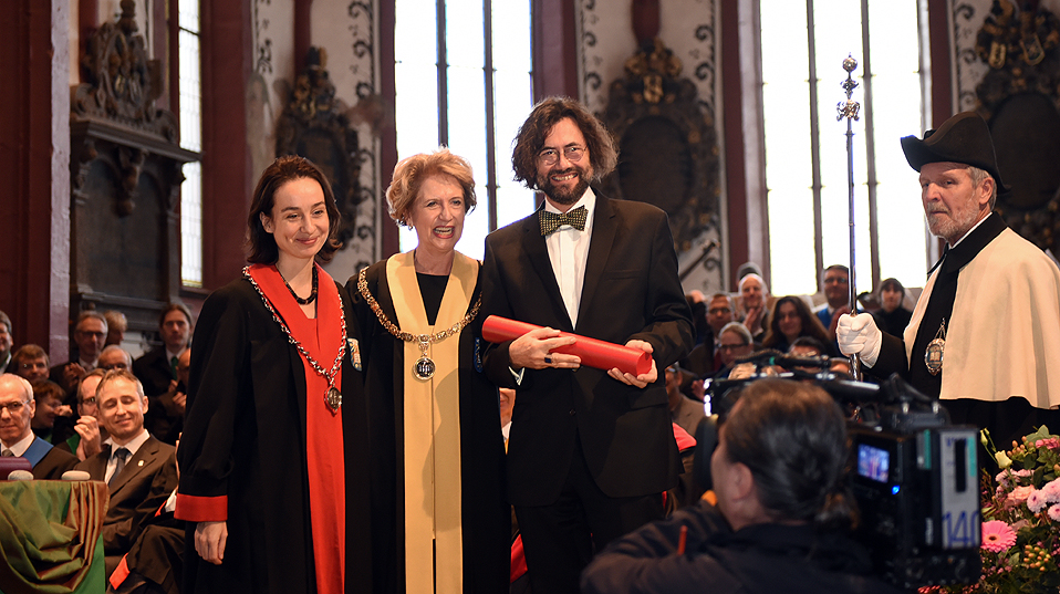 Prof. Dr. Thomas Geiser, honorary doctor of the Faculty of Law. (Image: University of Basel, Peter Schnetz)