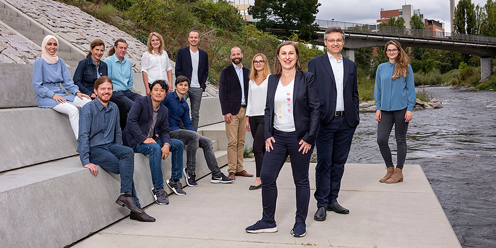 The team of Artidis, a spin off from the University of Basel. (Photo: Artidis).
