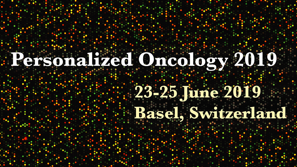 Personalized Oncology 2019 Konferenz Banner