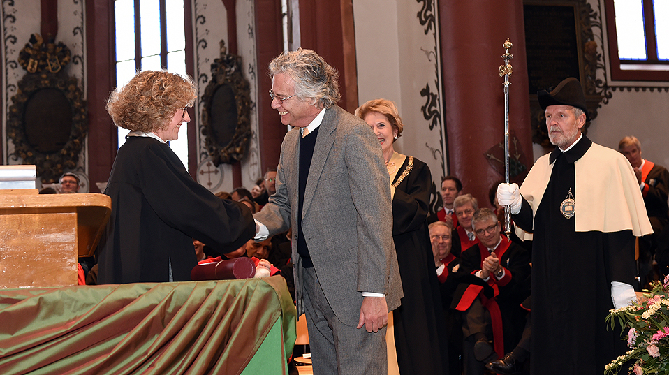 Prof. Dr. Irving Kirsch, honorary doctor of the Faculty of Psychology. (Image: University of Basel, Peter Schnetz)