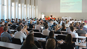 Event in a lecture hall at the University of Basel