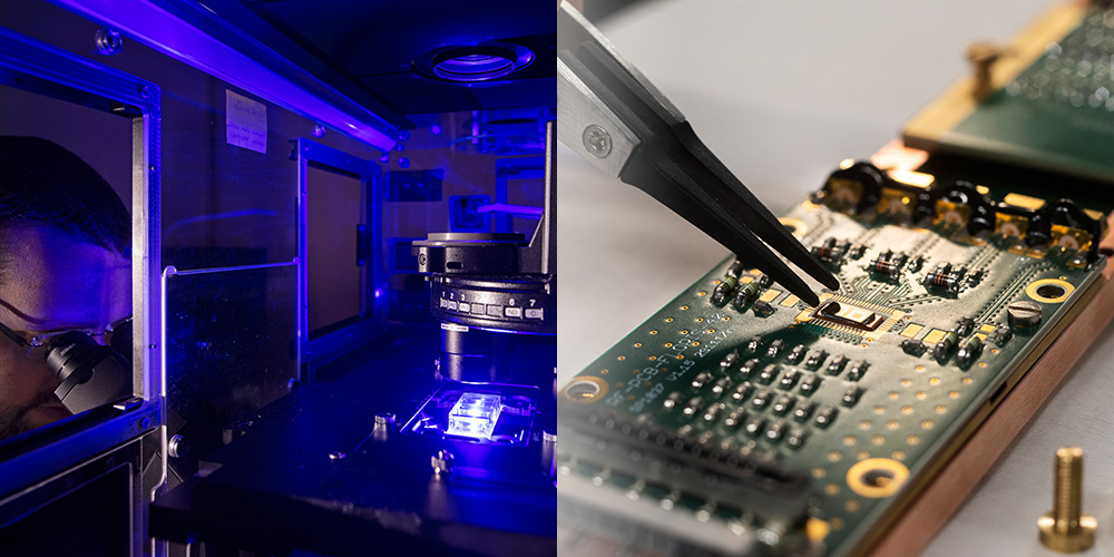 The Swiss Federal Government awards two centres for antibiotic resistance research and quantum computing to the University of Basel. (Photo: University of Basel, Christian Flierl)