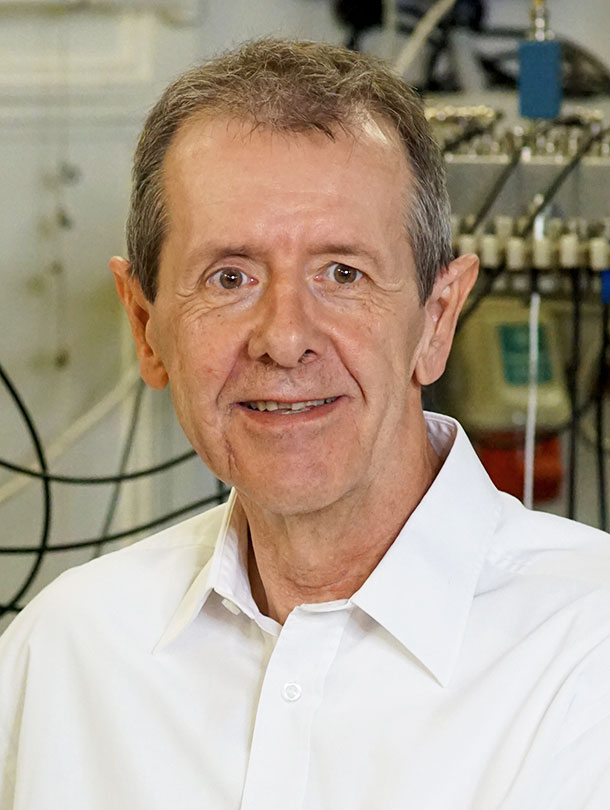 Prof. Dr. Christian Schönenberger. (Image: University of Basel, Department of Physics/SNI)