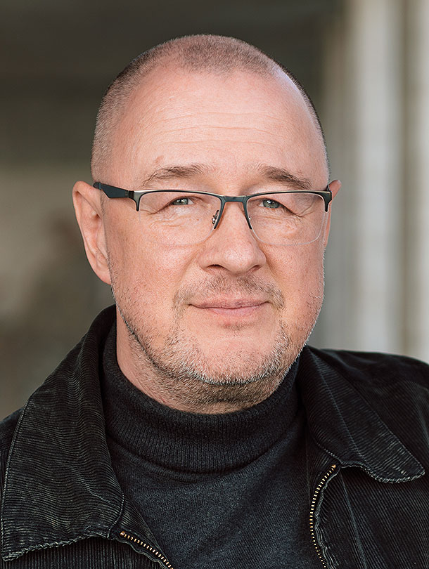 The historian Prof. Georgiy Kasianov is head of the Department of Contemporary History and Politics at the Institute of History of Ukraine at the National Academy of Sciences in Kiev. His focus is on the social, political and cultural history of Ukraine in the 19th and 20th century. (Image: University of Basel, Oliver Hochstrasser)