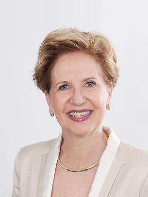 Portrait of Professor Andrea Schenker-Wicki, Rector of the University of Basel.