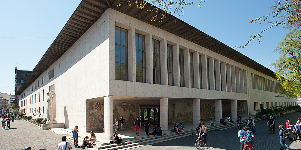 The Main Building of the University of Basel at the Petersplatz. (Image: University of Basel)