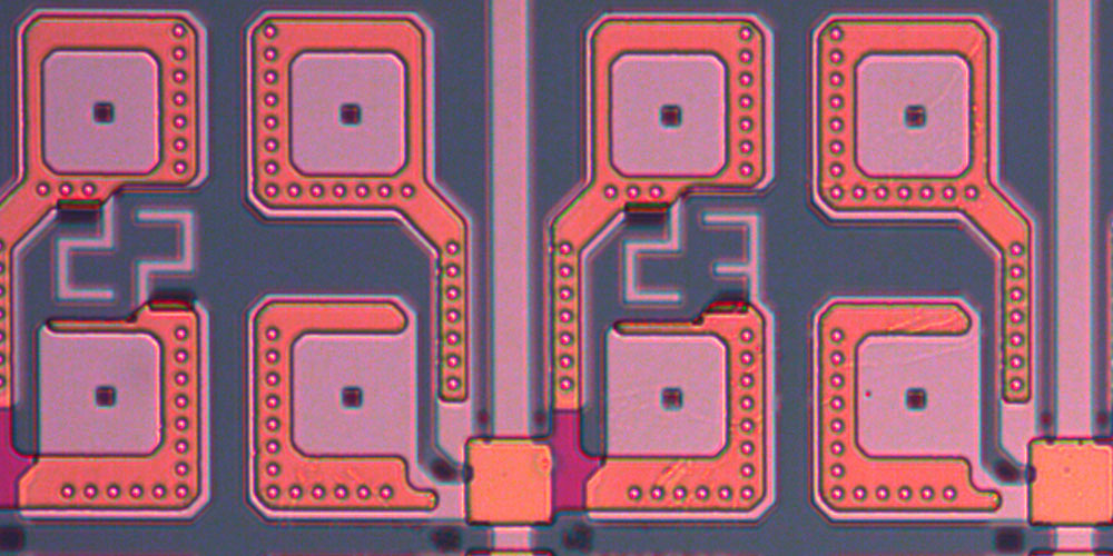 Electrical contact to molecules in semiconductor structures established for the first time