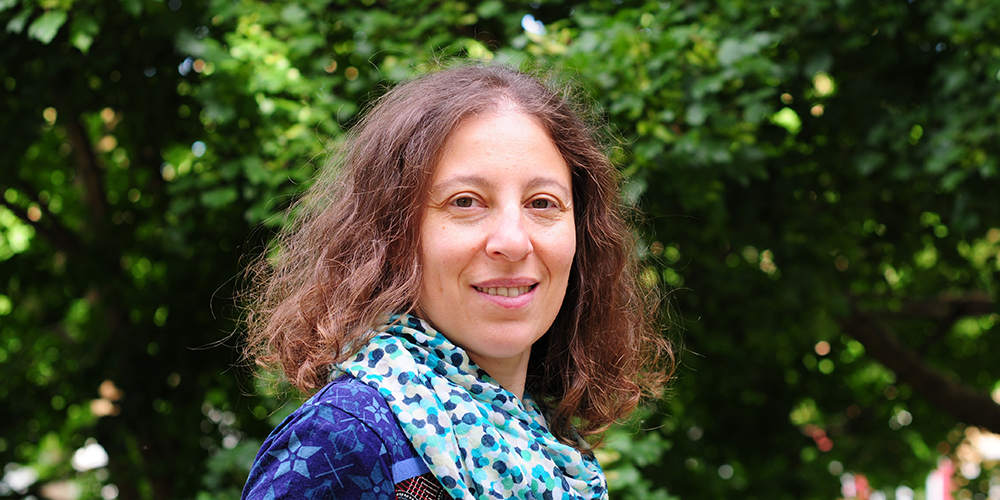 Prof. Dr. Giusi Moffa, the new assistant professor for statistics