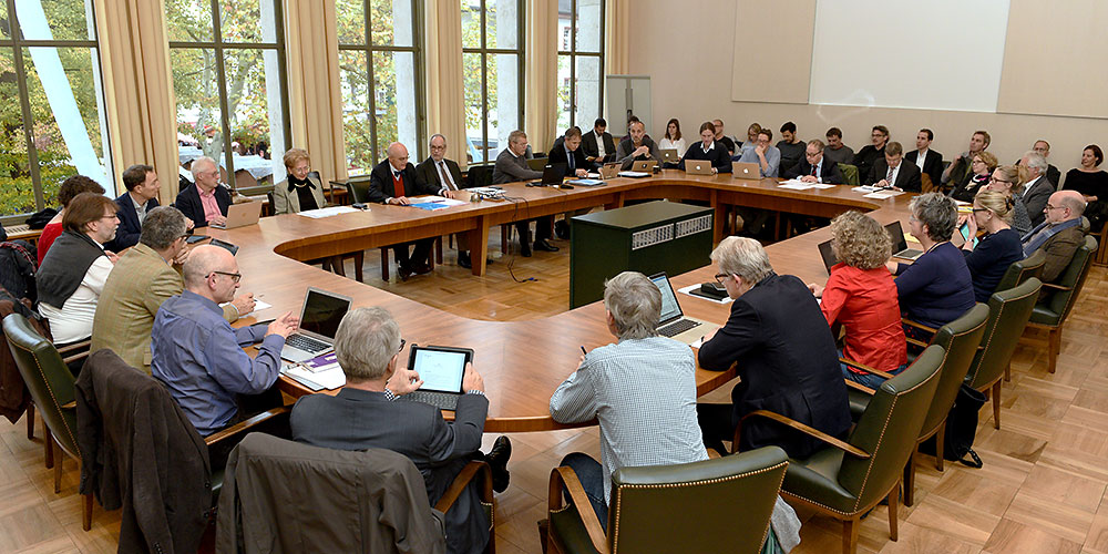 Meeting of the Senate. (Image: Universität Basel, Peter Schnetz)