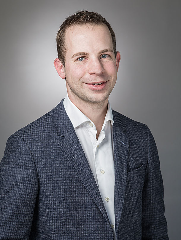 Prof. Dr. Christof Sparr. (Image: University of Basel, Department of Chemistry)