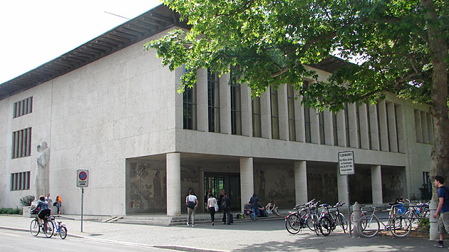 Collegiate Building, Petersplatz 1, Basel