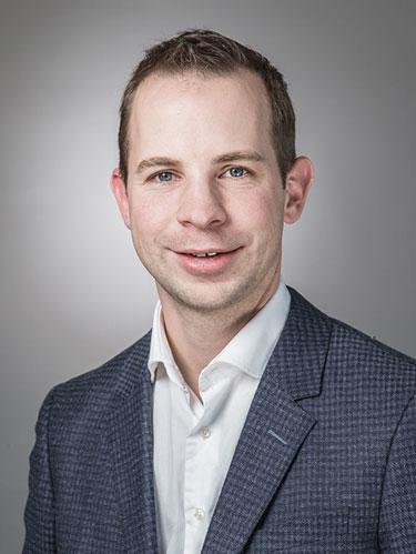 Prof. Dr. Christof Sparr. (Bild: Universität Basel, Departement Chemie)